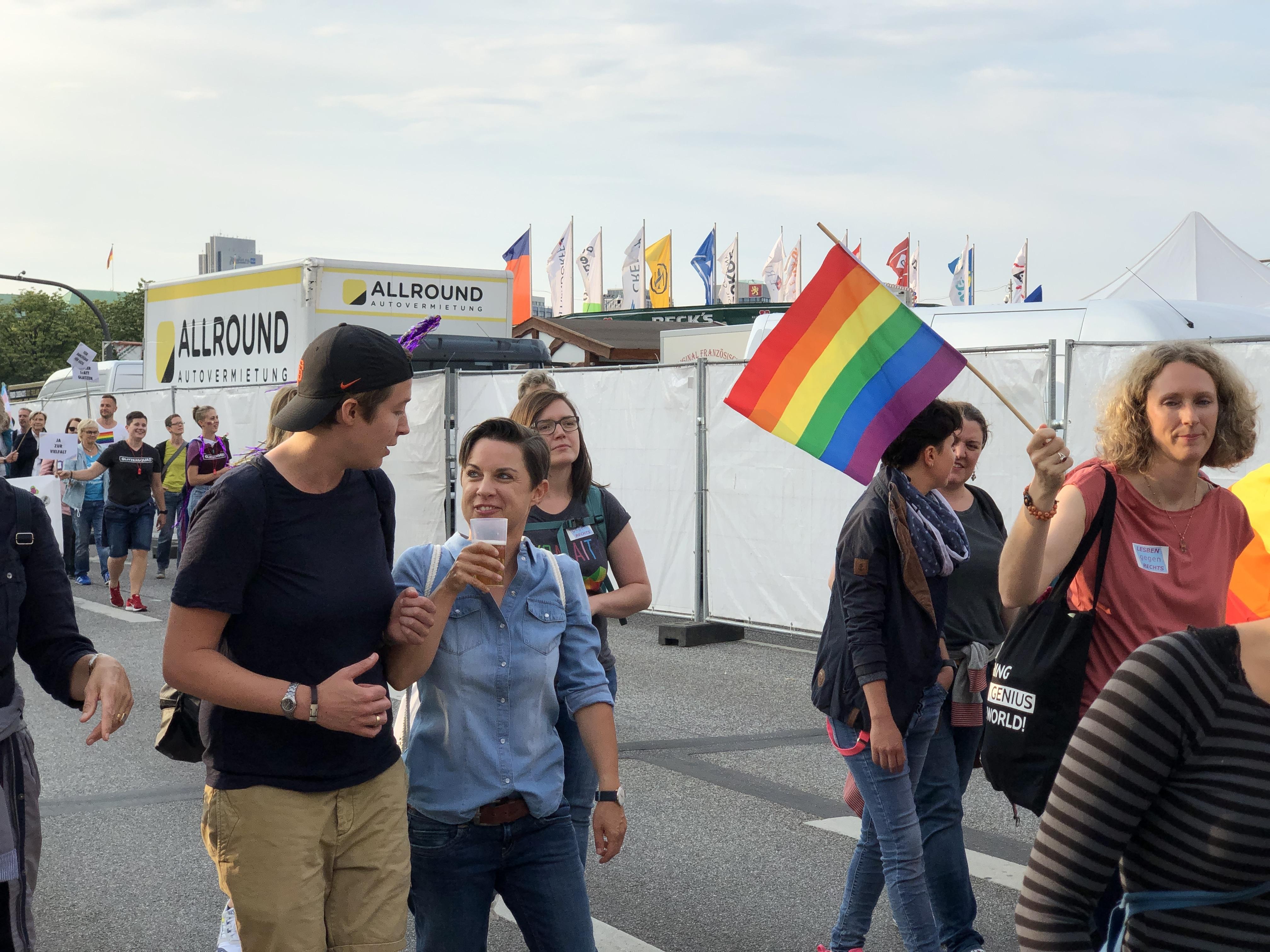 Lesben in jeans