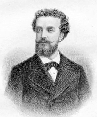 Ernesto Nicolini (1834-1898) by August Weger (1823-1892)