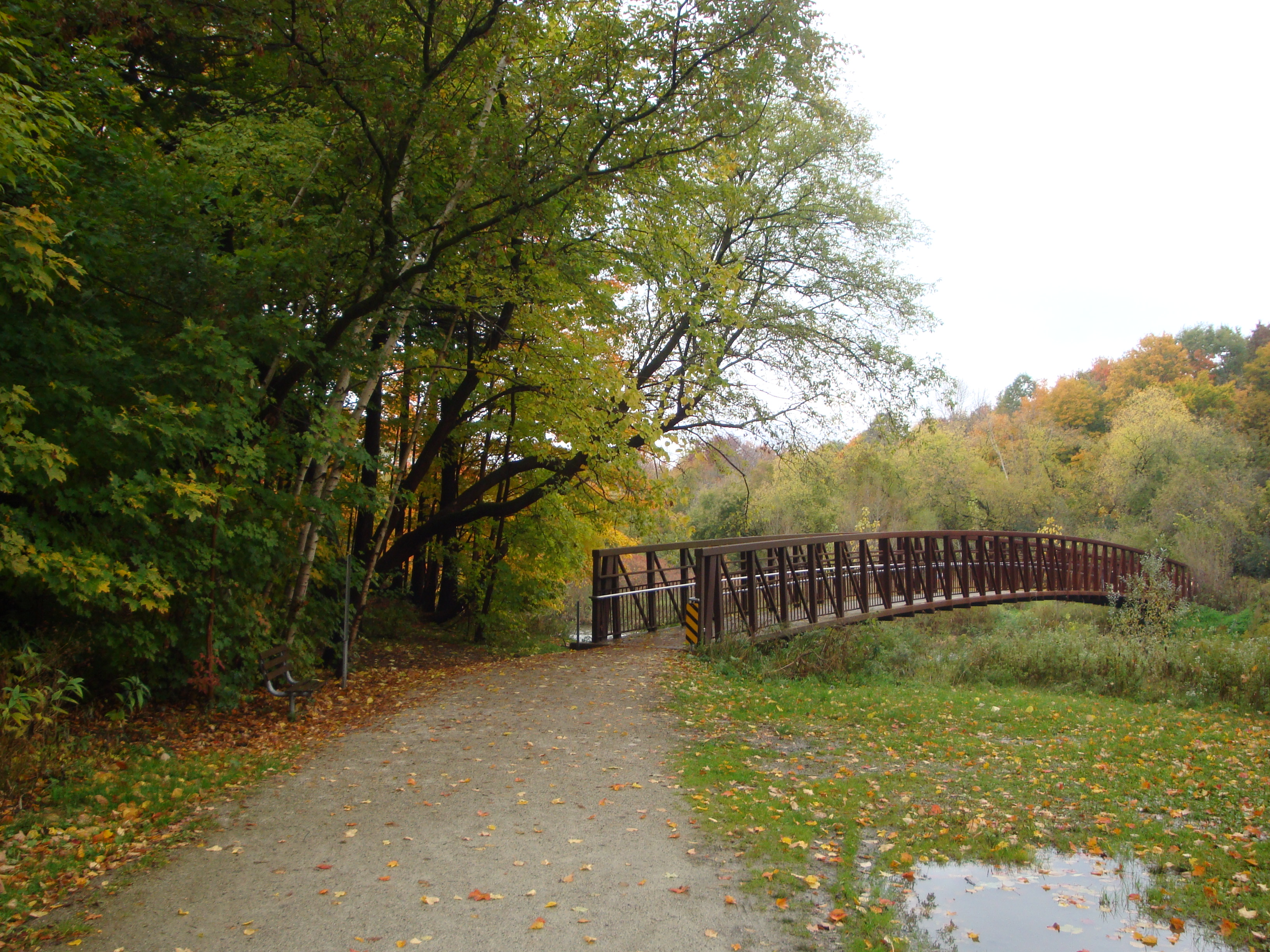 File Etobicoke Creek Trail Bridge At Centennial Park Jpg