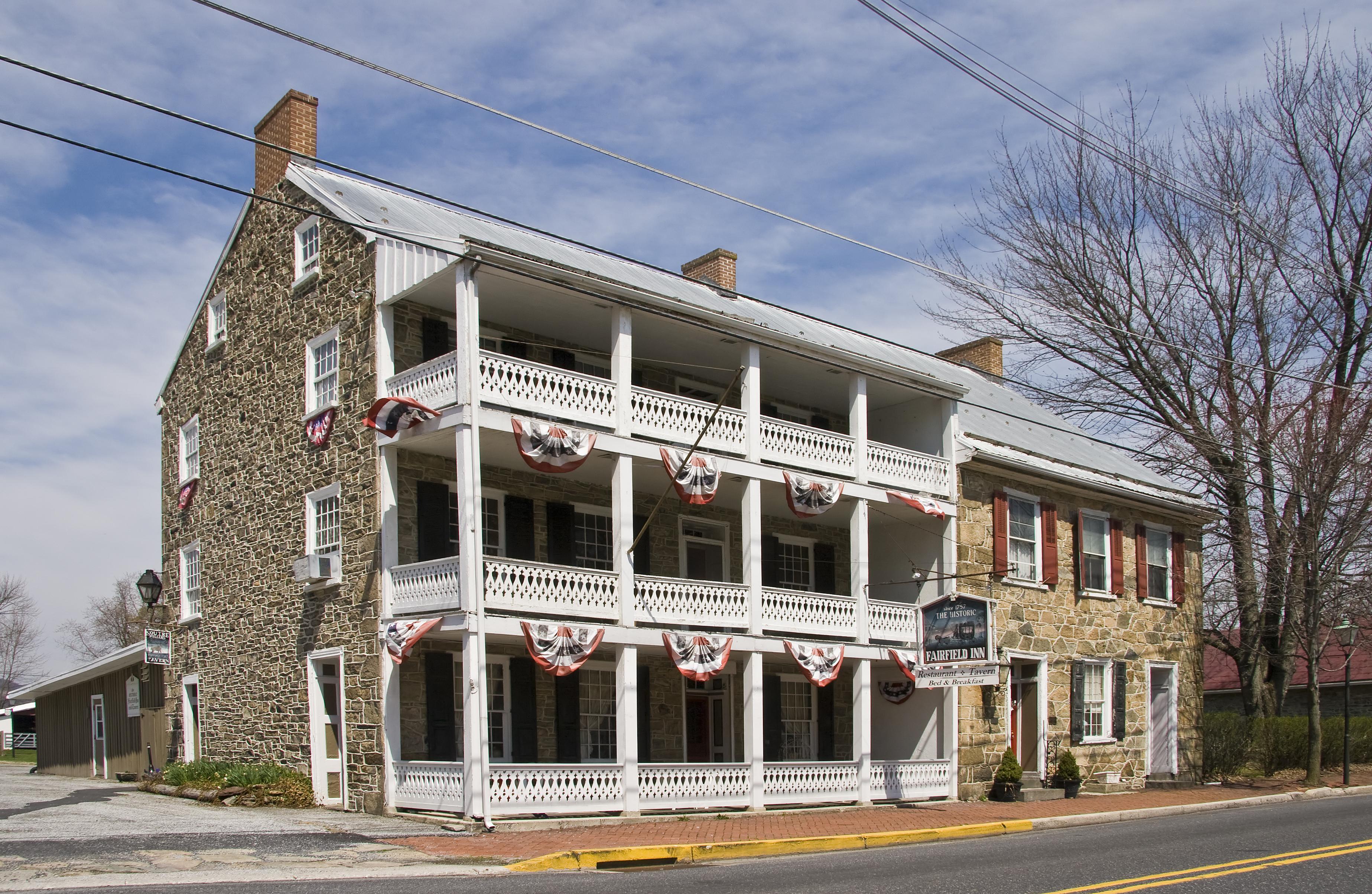 Fairfield pennsylvania wikiwand for Fairfield house