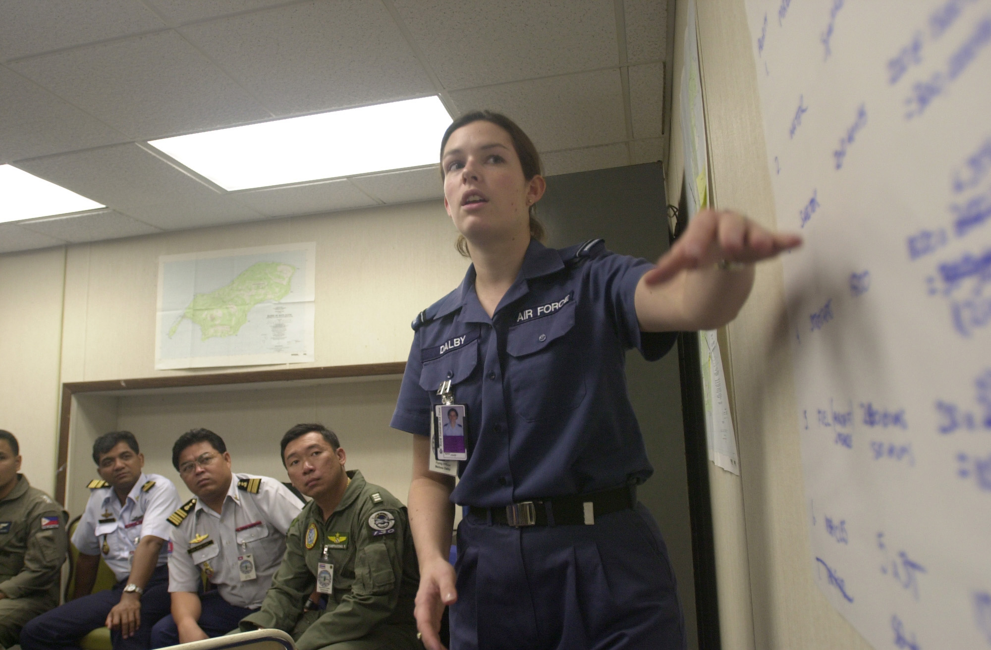 fileflag officer melissa dalby 86 wg royal australian air force presents