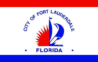 Flag of Fort Lauderdale, Florida