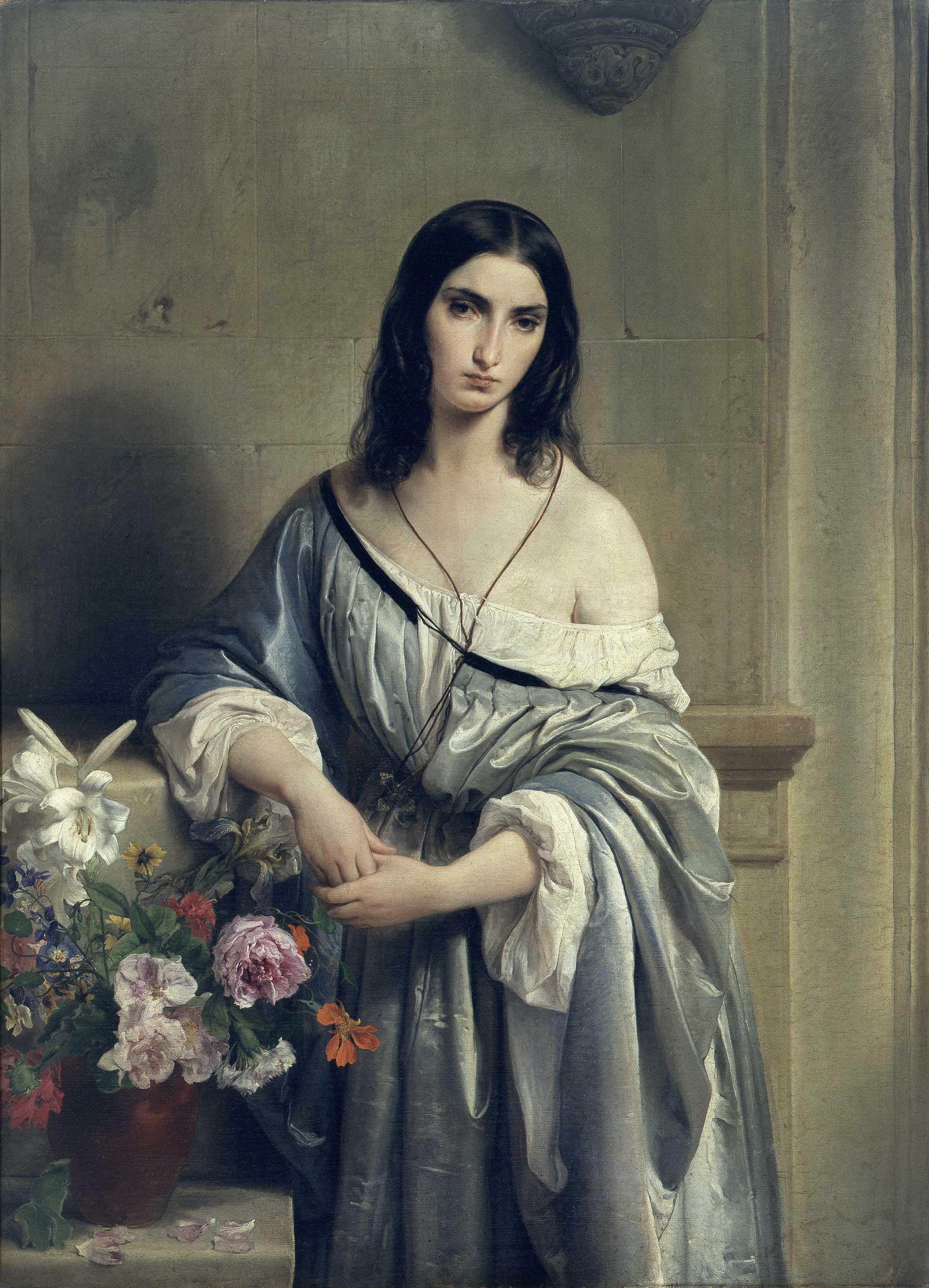 Malinconia - di Francesco Hayez - Milano, collezione privata