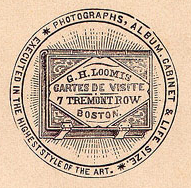 G H Loomis Boston logo TremontRow 19thc.png