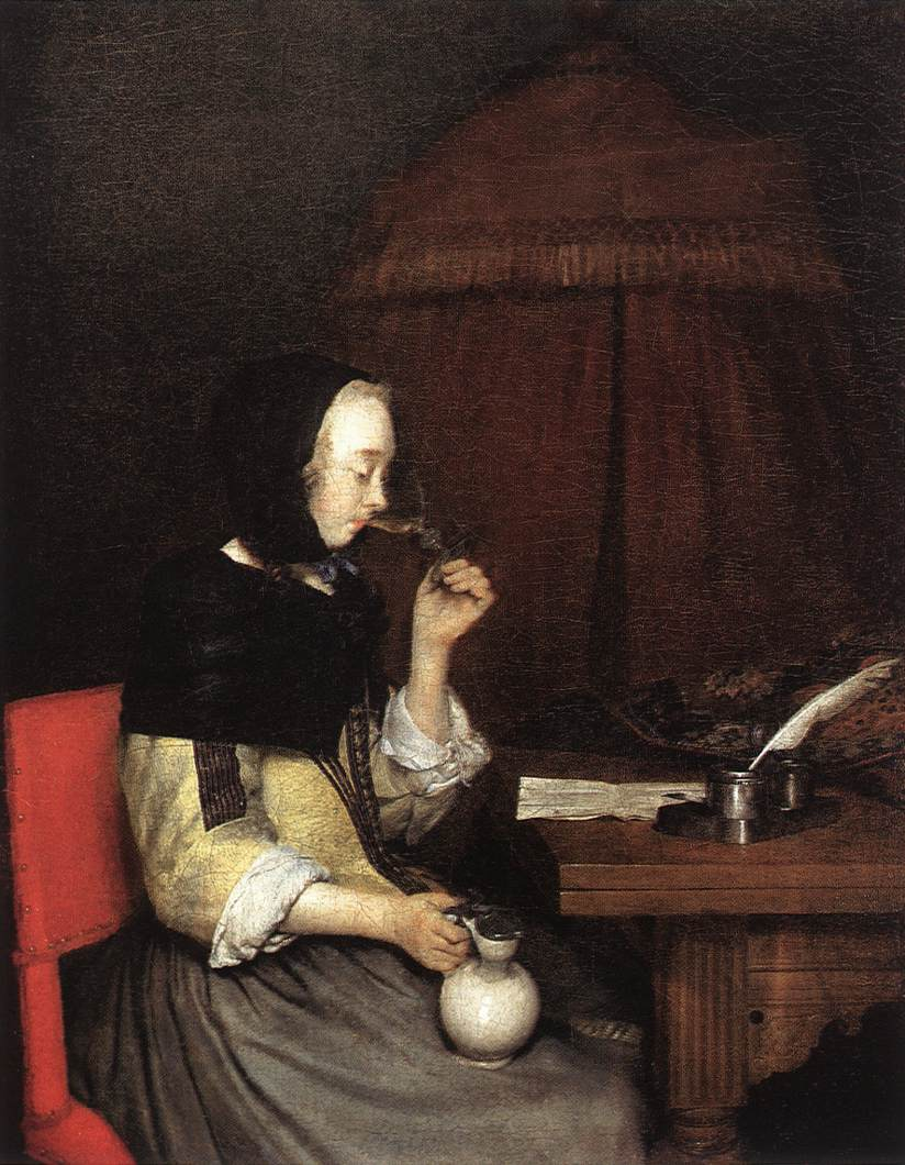 Category:Genre paintings by Gerard ter Borch (II)