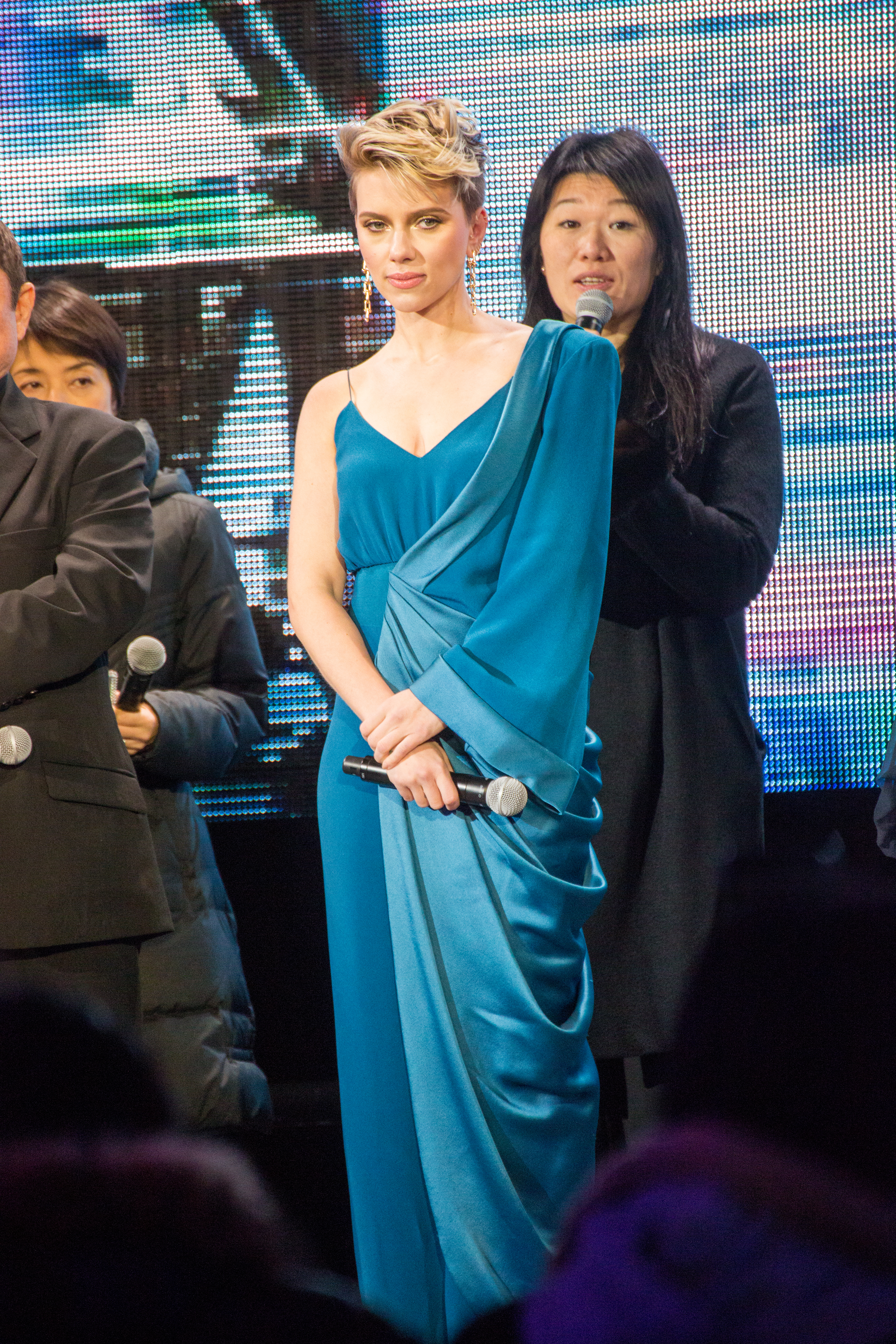 File Ghost In The Shell World Premiere Red Carpet Scarlett Johansson 23552743818 Jpg Wikimedia Commons