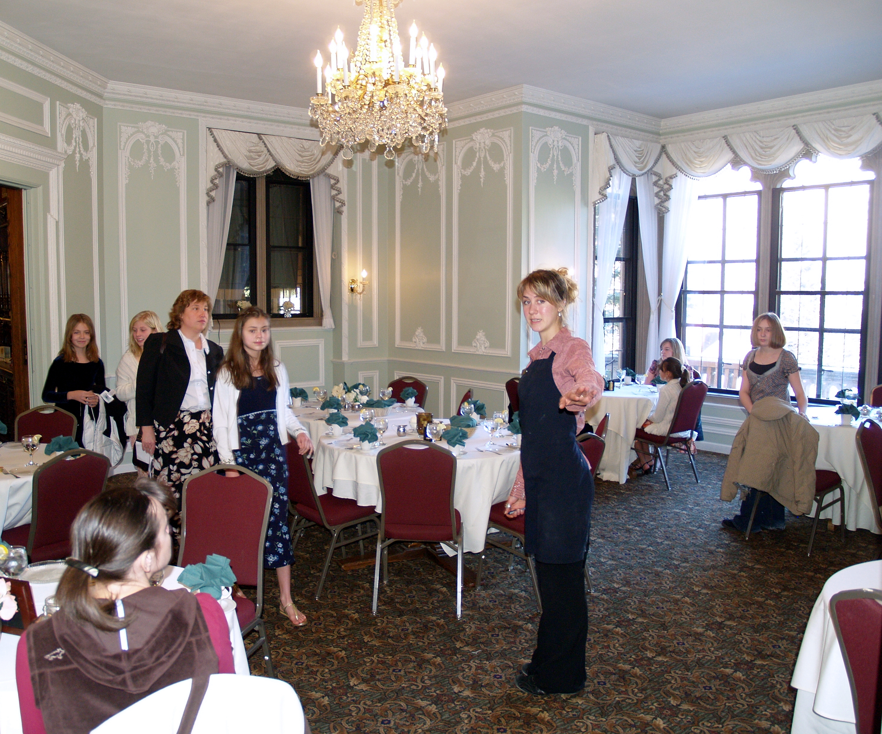 Victorian Tea Room Muscle Shoals Alabama
