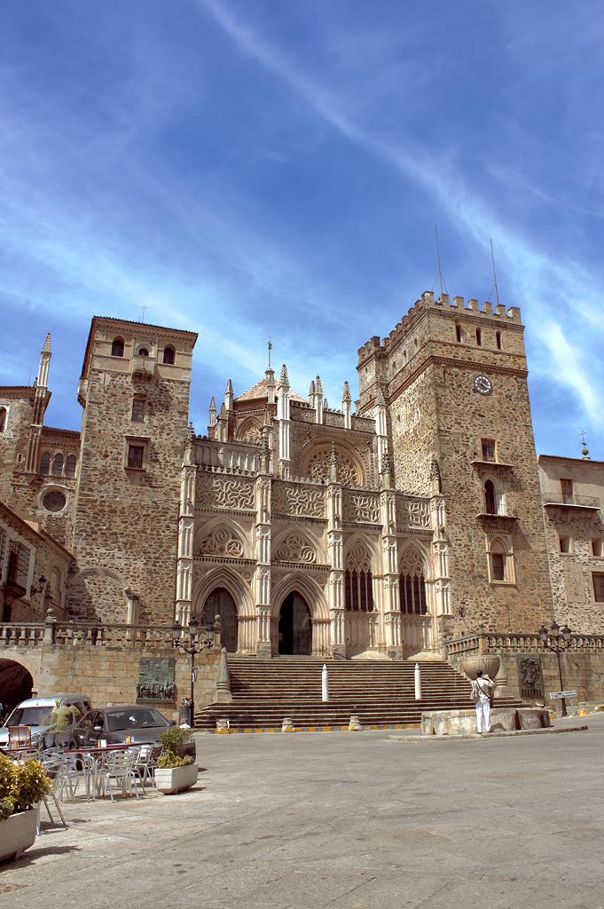 Patrimonio de la Humanidad en Europa y América del Norte. España. Real Monasterio de Santa María de Guadalupe.