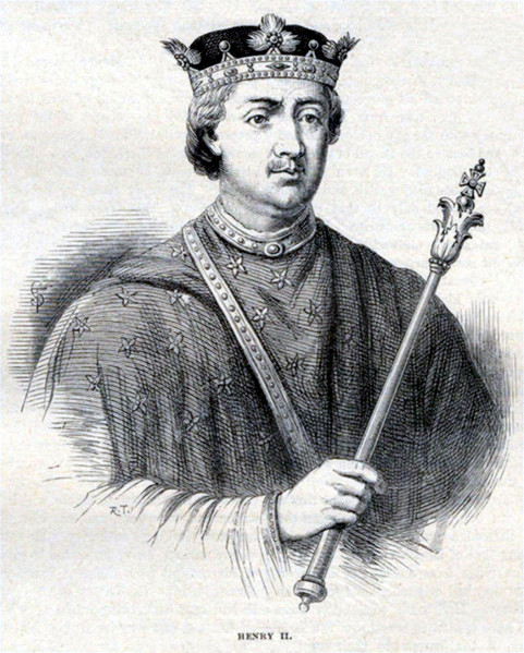 Datei:Henry II of England - Illustration from Cassell's History of England - Century Edition - published circa 1902.jpg