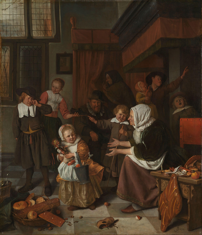 Sint Nicolaasfeest Rijksmuseum.File Het Sint Nicolaasfeest Rijksmuseum Sk A 385 Jpeg
