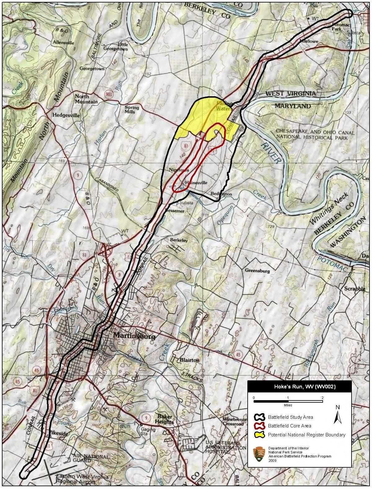 Battle of Hoke's Run - Wikipedia