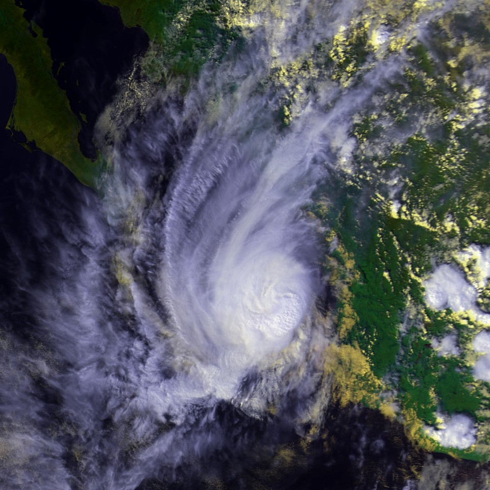 Hurricane Madeline Oct Z