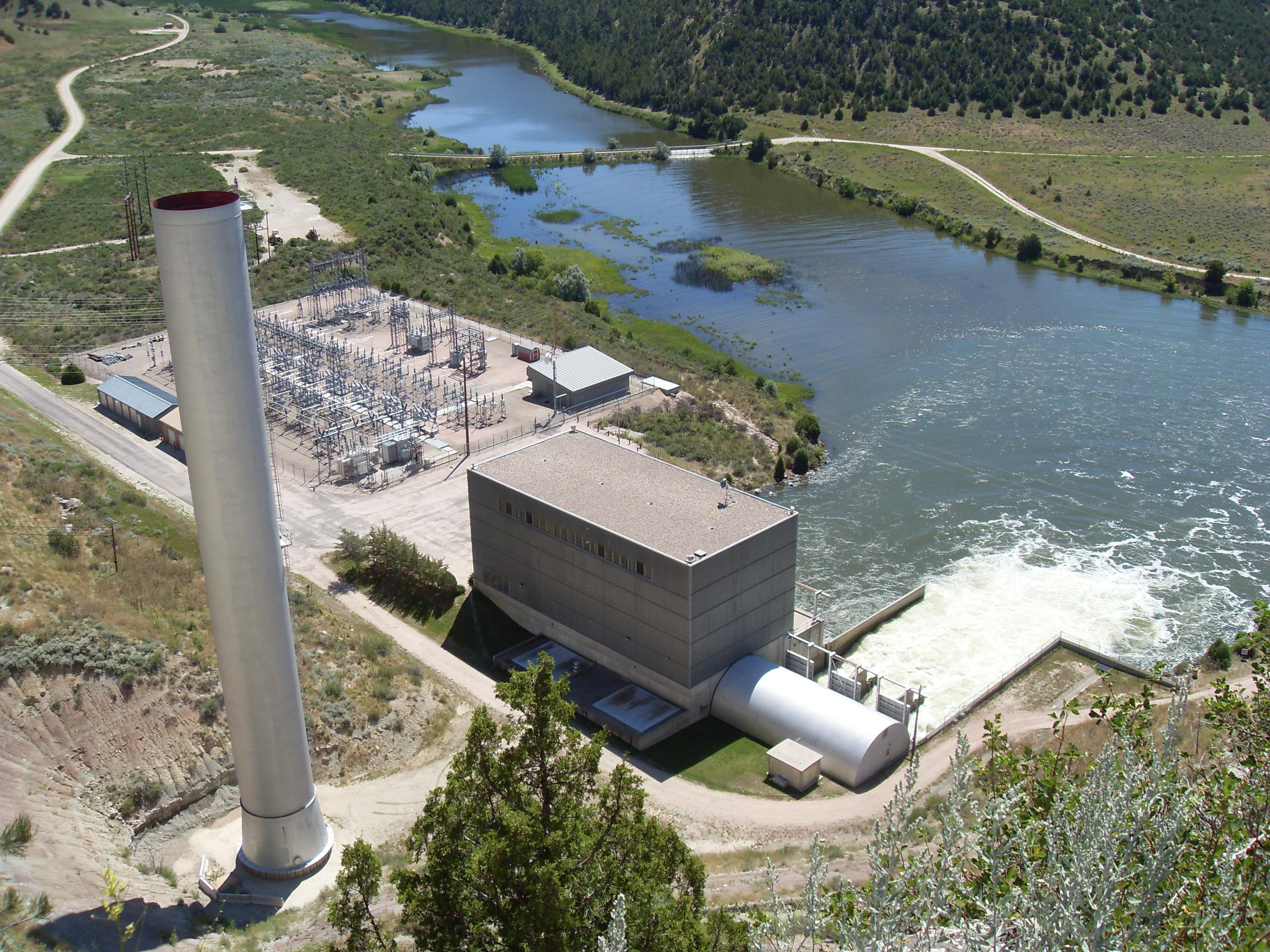 Mini Hydroelectric Dam : File hydroelectric power plant glendo sp g