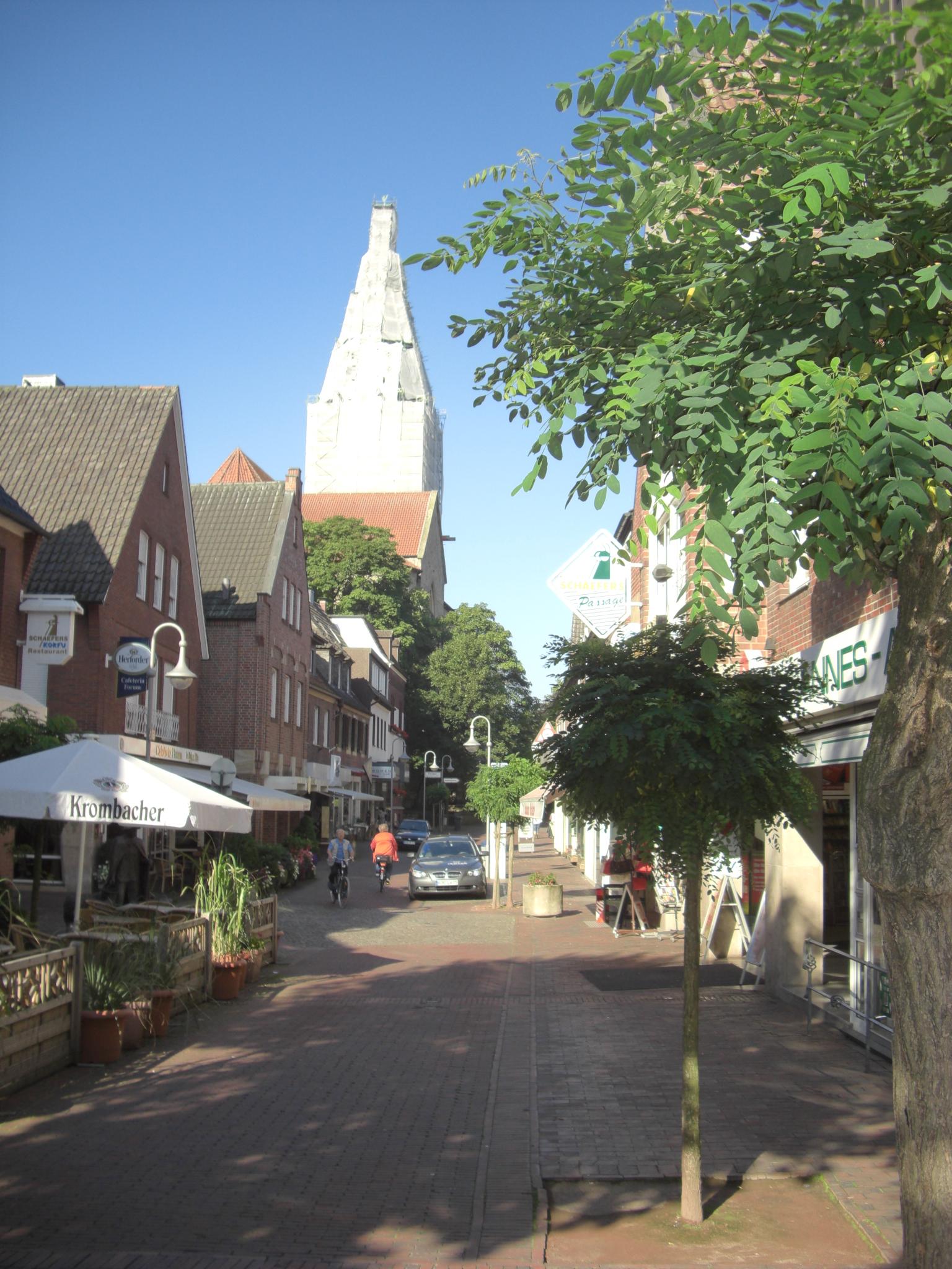File Innenstadt Stadtlohn Jpg Wikimedia Commons