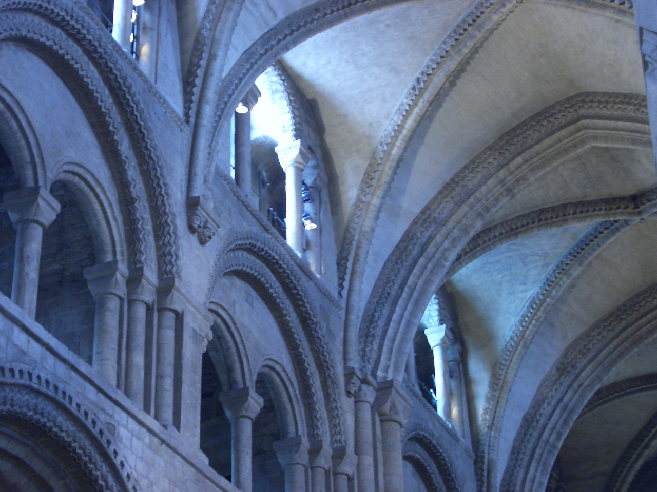 File Interior Of Durham Cathedral Jpg Wikimedia Commons