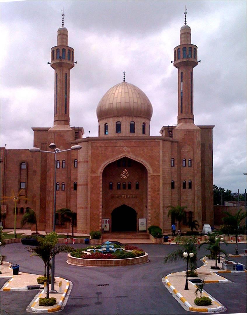 Masjid pusat di Marcory.
