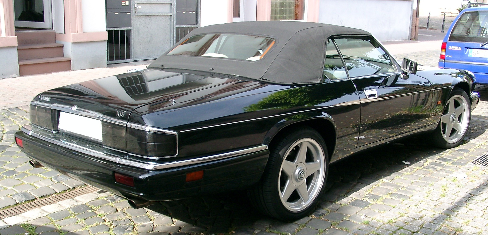 file jaguar xjs cabrio rear wikimedia commons. Black Bedroom Furniture Sets. Home Design Ideas