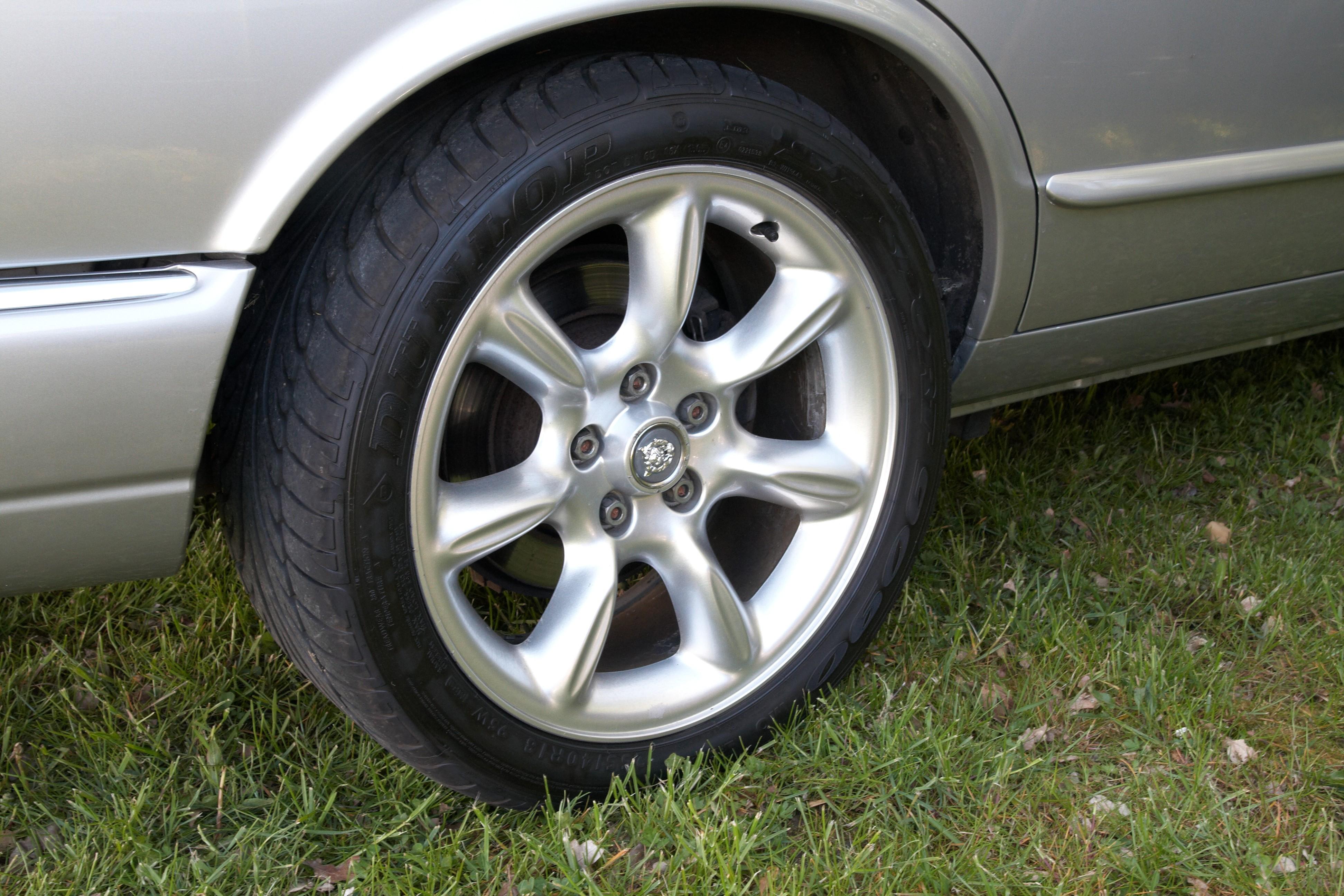 silver oem type x rim tobago wheel wheels jaguar
