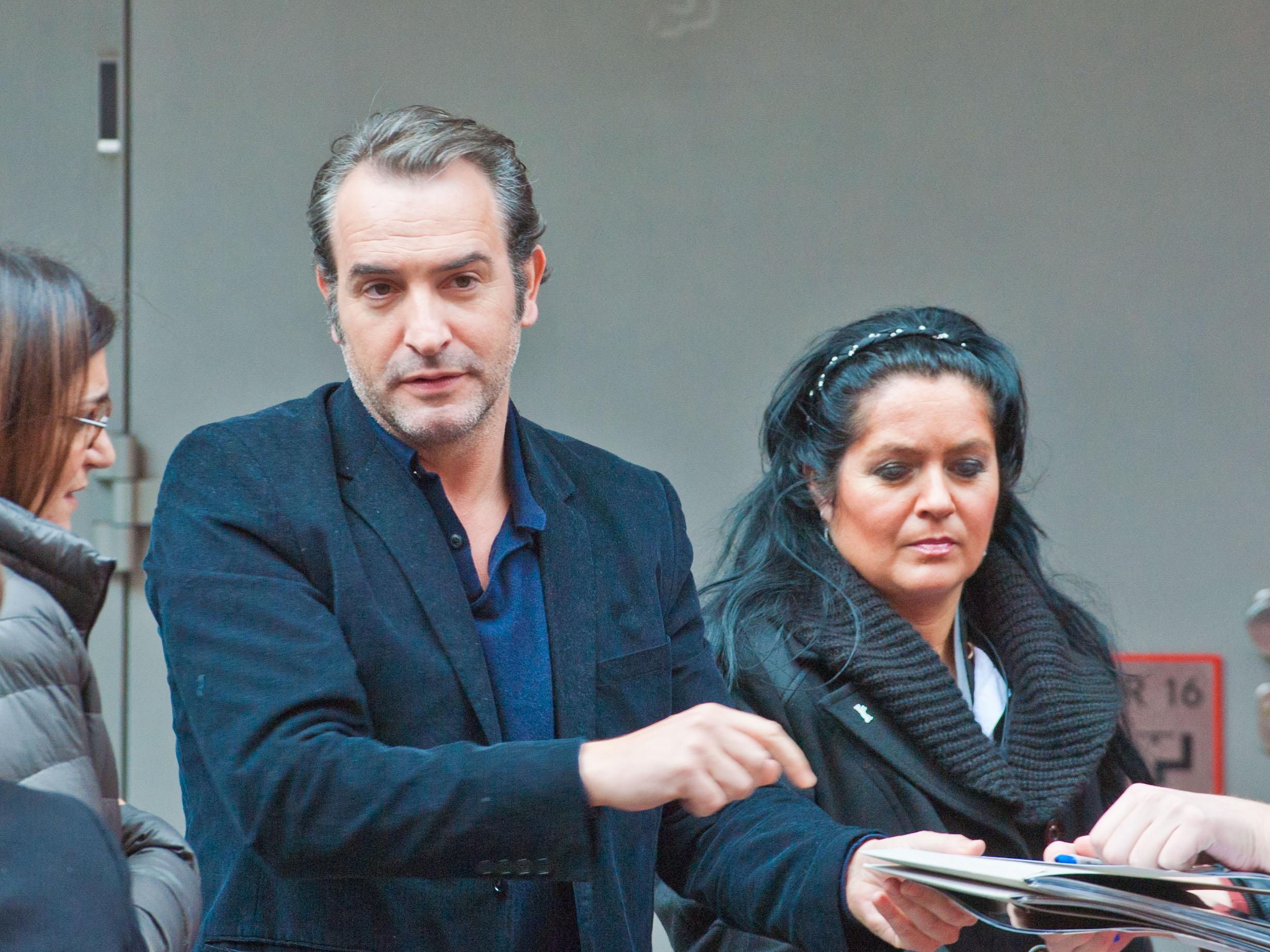 Les c l brit s chauves recensons les page 50 for Jean dujardin couple 2014