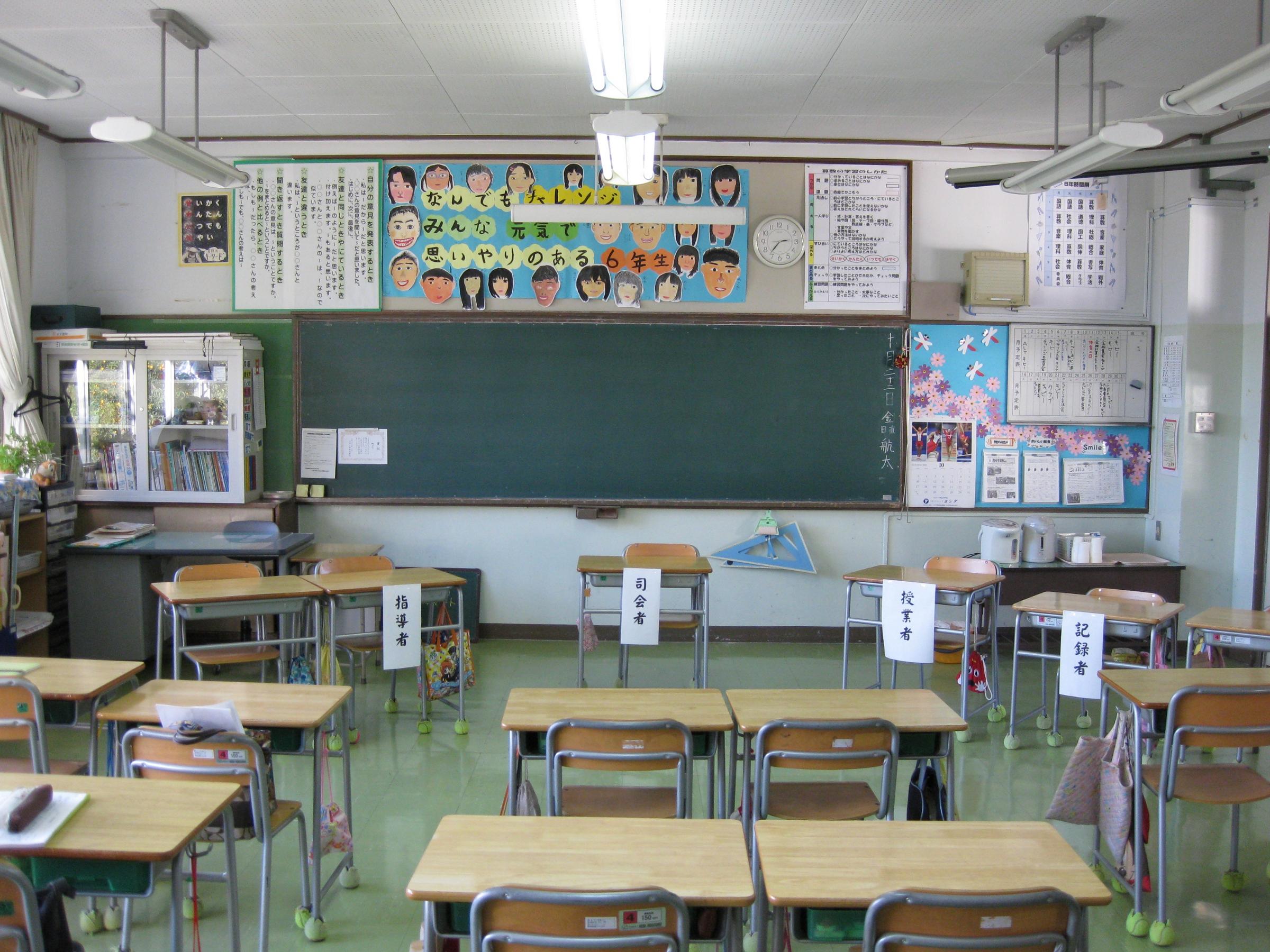 Classroom Decor For 6th Grade ~ File kawauchi es th grade classroom g wikimedia commons
