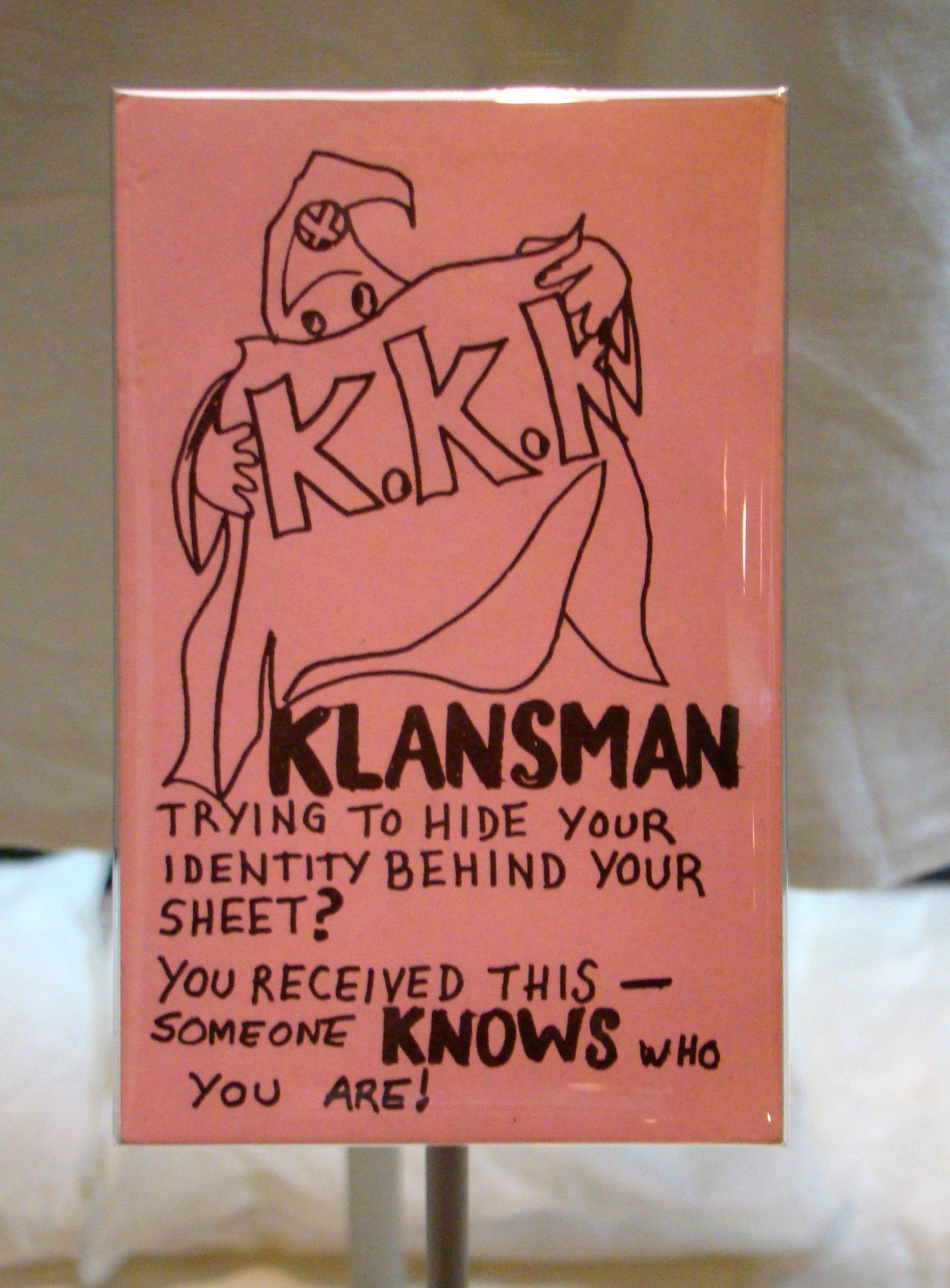 talk ku klux klan archive