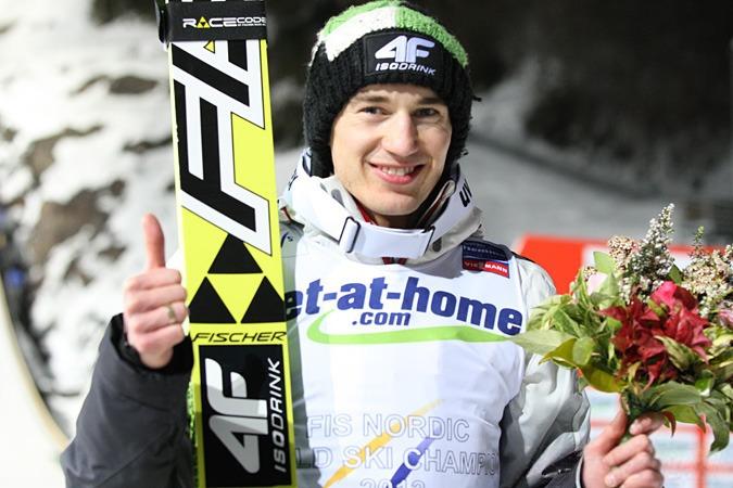 ZIO Pyoenchang 2018: Kamil Stoch zdobył złoto po raz trzeci w karierze