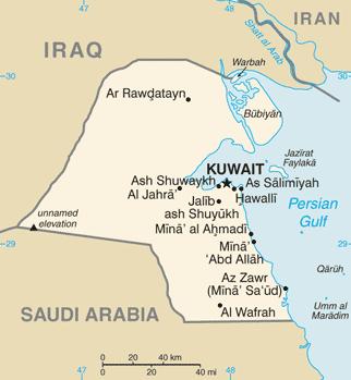 Kuwait-CIA WFB Map.png