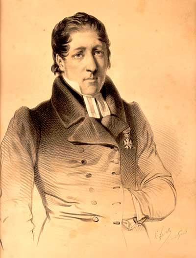 Depiction of Lars Levi Laestadius