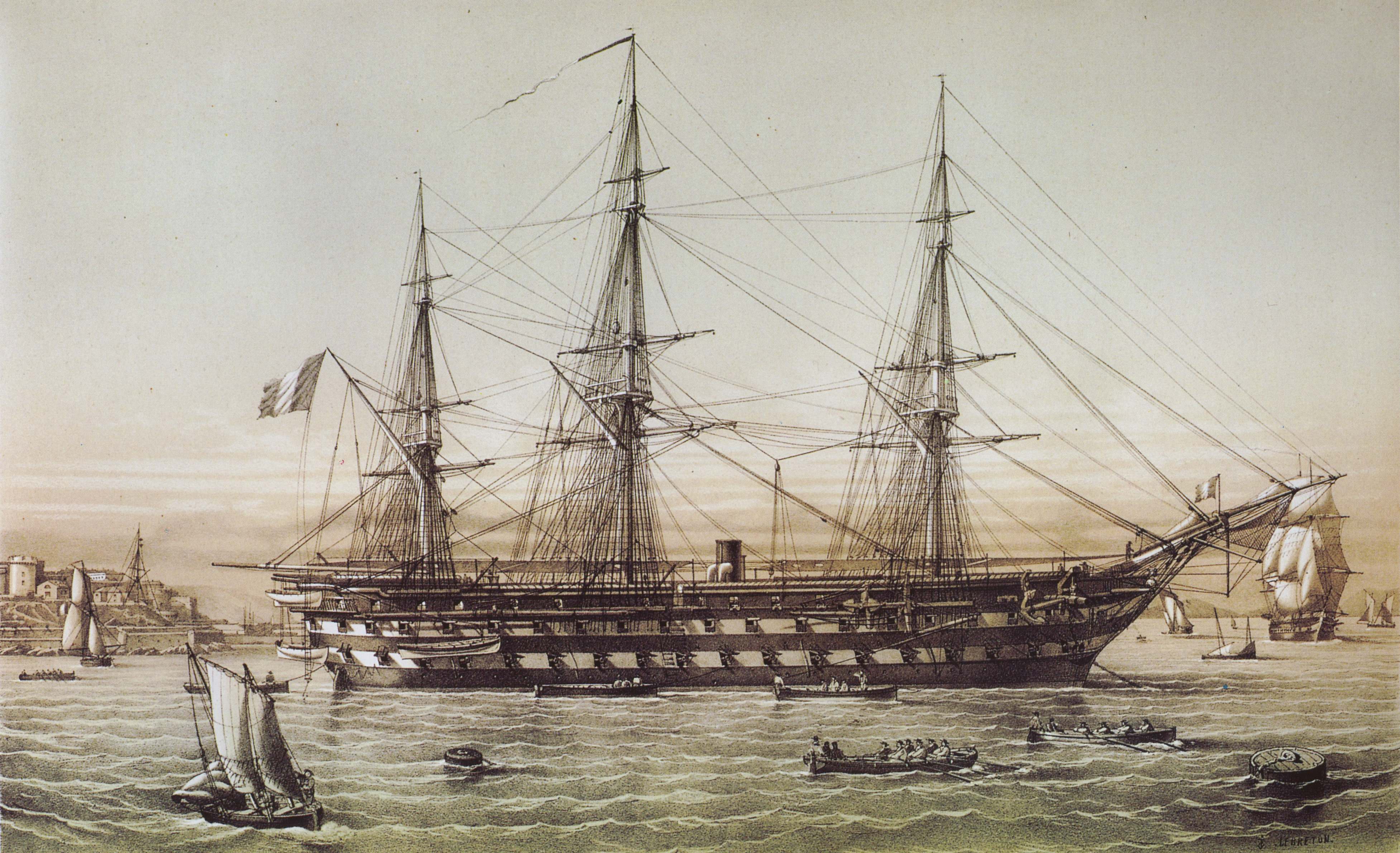French ship Jean Bart (1852) - Wikiwand
