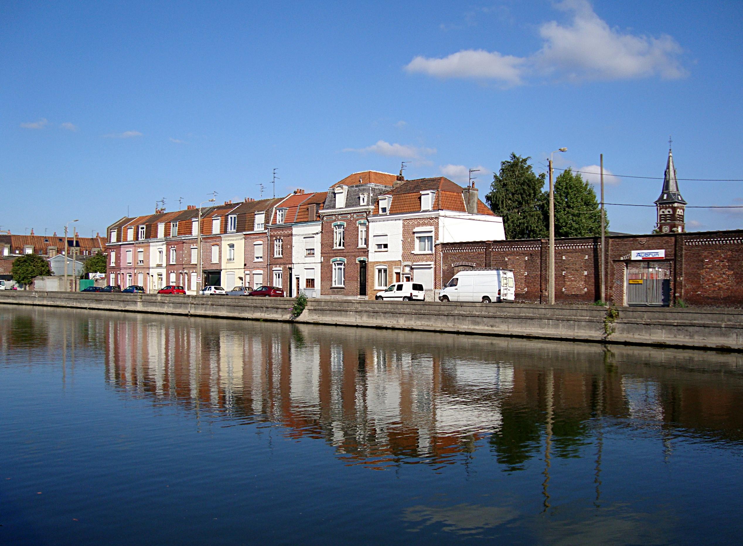 File Lille Deule Bois Blancs JPG Wikimedia Commons # Quartier Bois Blanc Lille