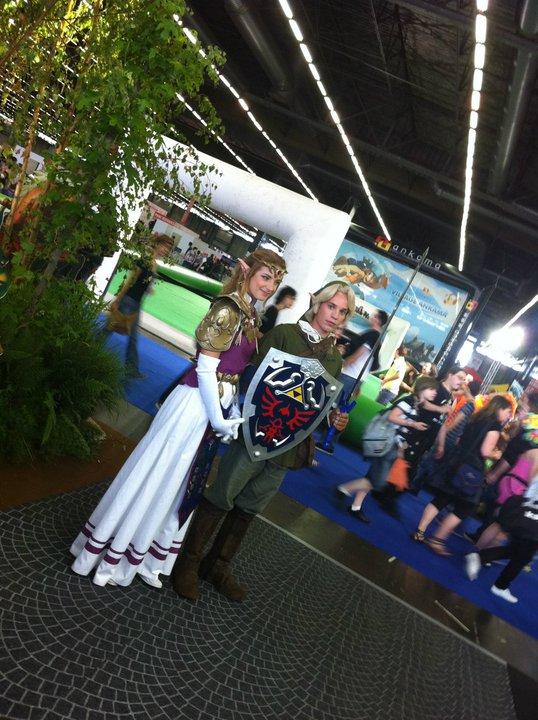 filelink et zelda cosplayjpg - Link Et Zelda