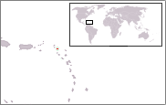 Location of Saint Barthélemy
