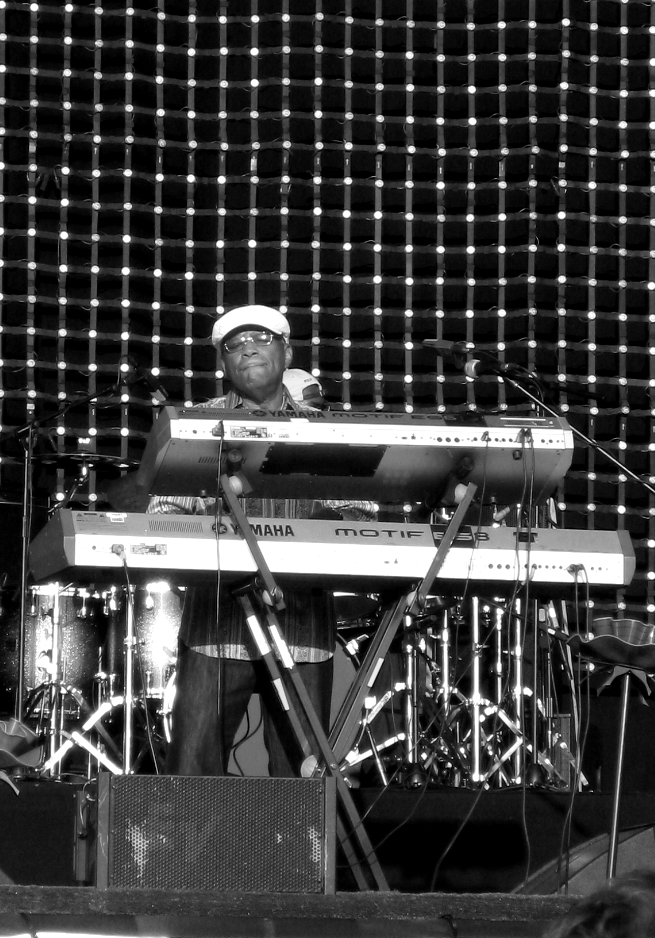 Lonnie Liston Smith performing live at the [[Glastonbury Festival]], June 27, 2009