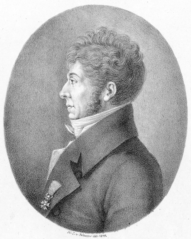 Étienne Méhul, by H.E. von Winter