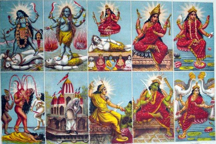 the different goddesses in the mahavidya