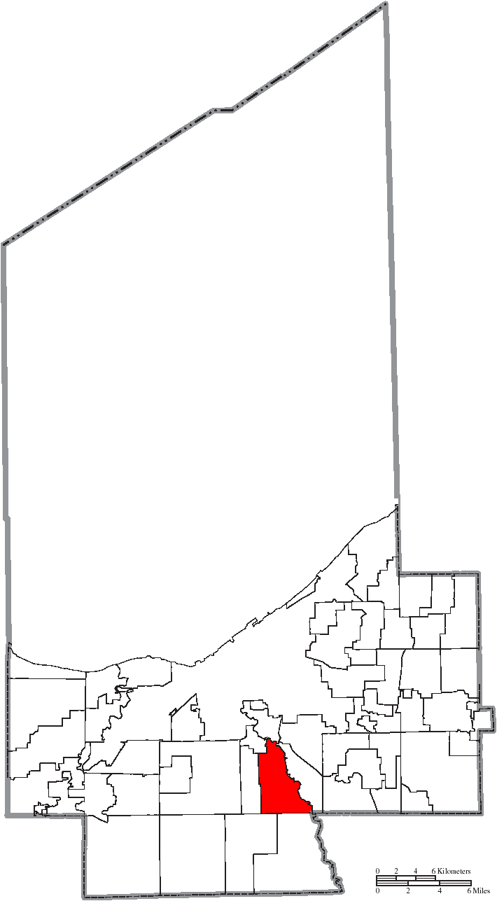 File Map Of Cuyahoga County Ohio Highlighting Independence City Png