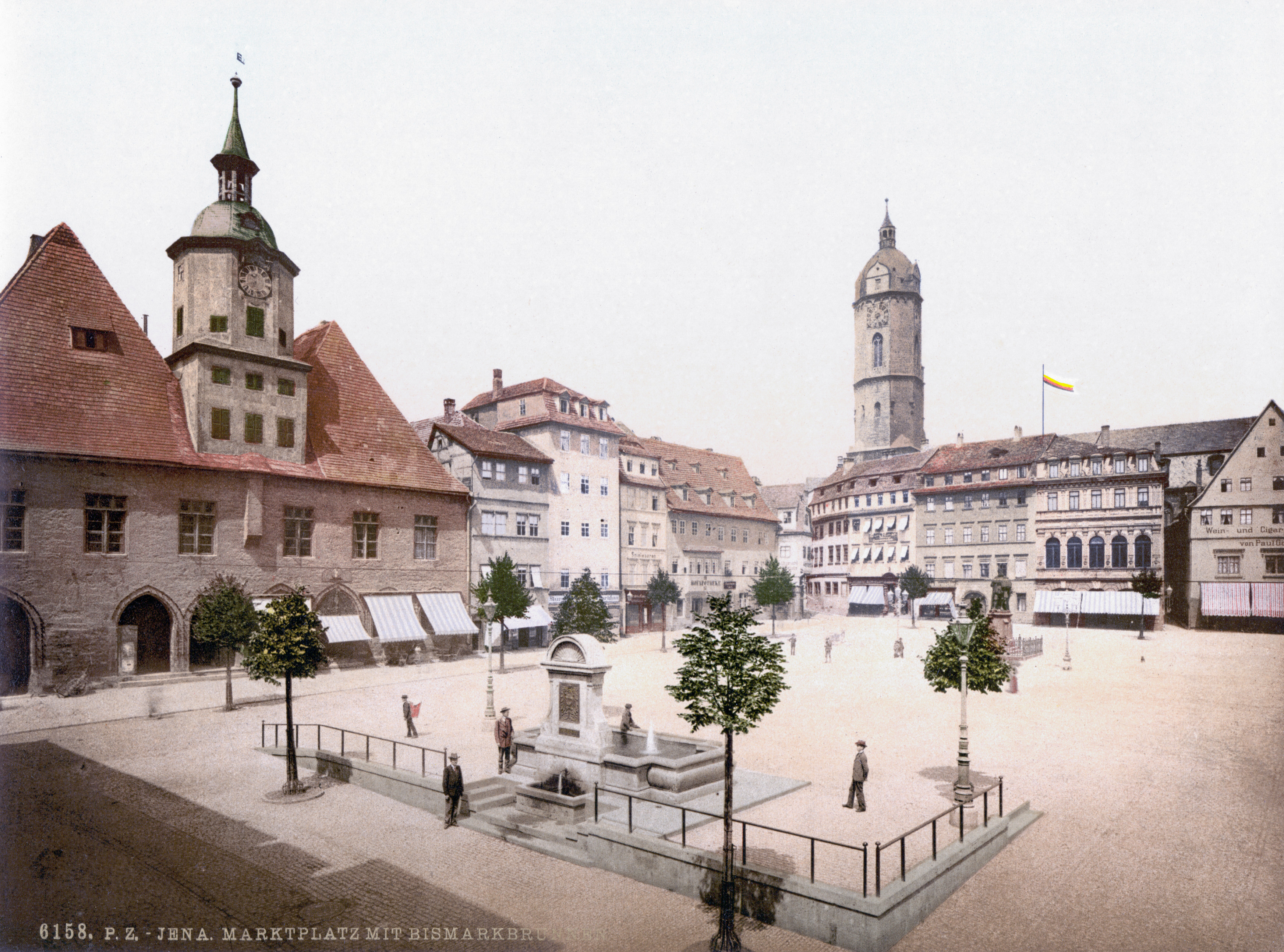 datei marktplatz bismarcksbrunnen jena wikipedia. Black Bedroom Furniture Sets. Home Design Ideas