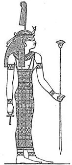 ägyptische Schlangengöttin