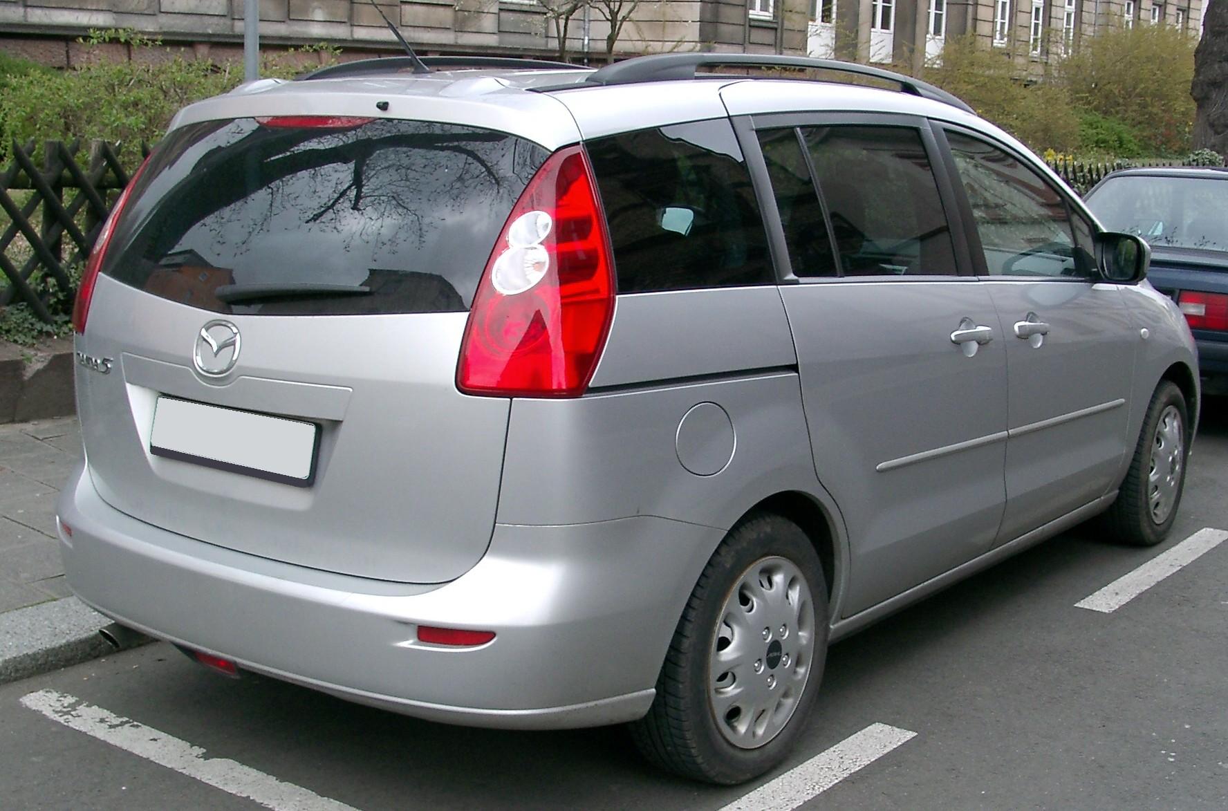 FileMazda Rear Jpg Wikimedia Commons - Mazda premacy problems