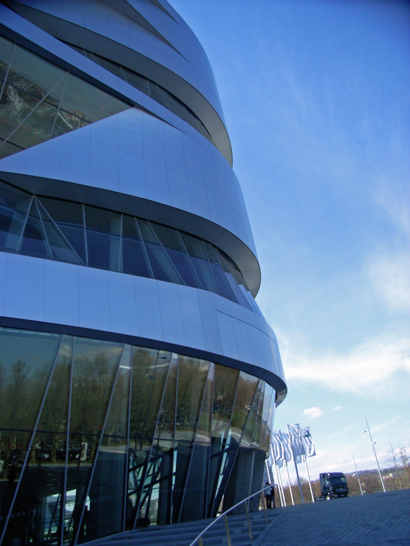 Mercedes Benz Museum Fassade