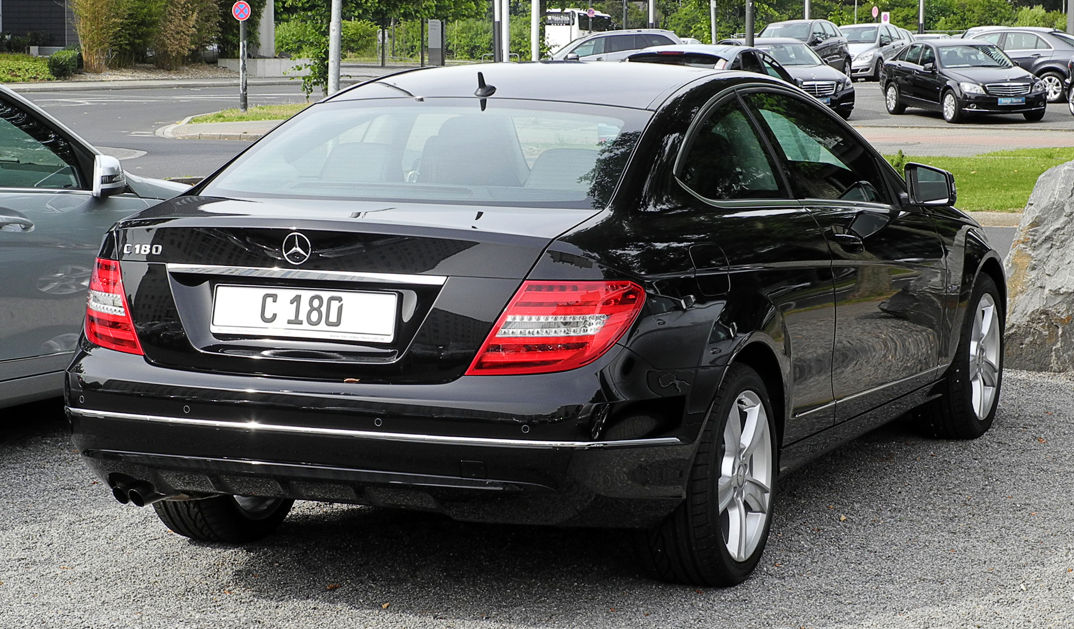 Mercedes C Coupe Own