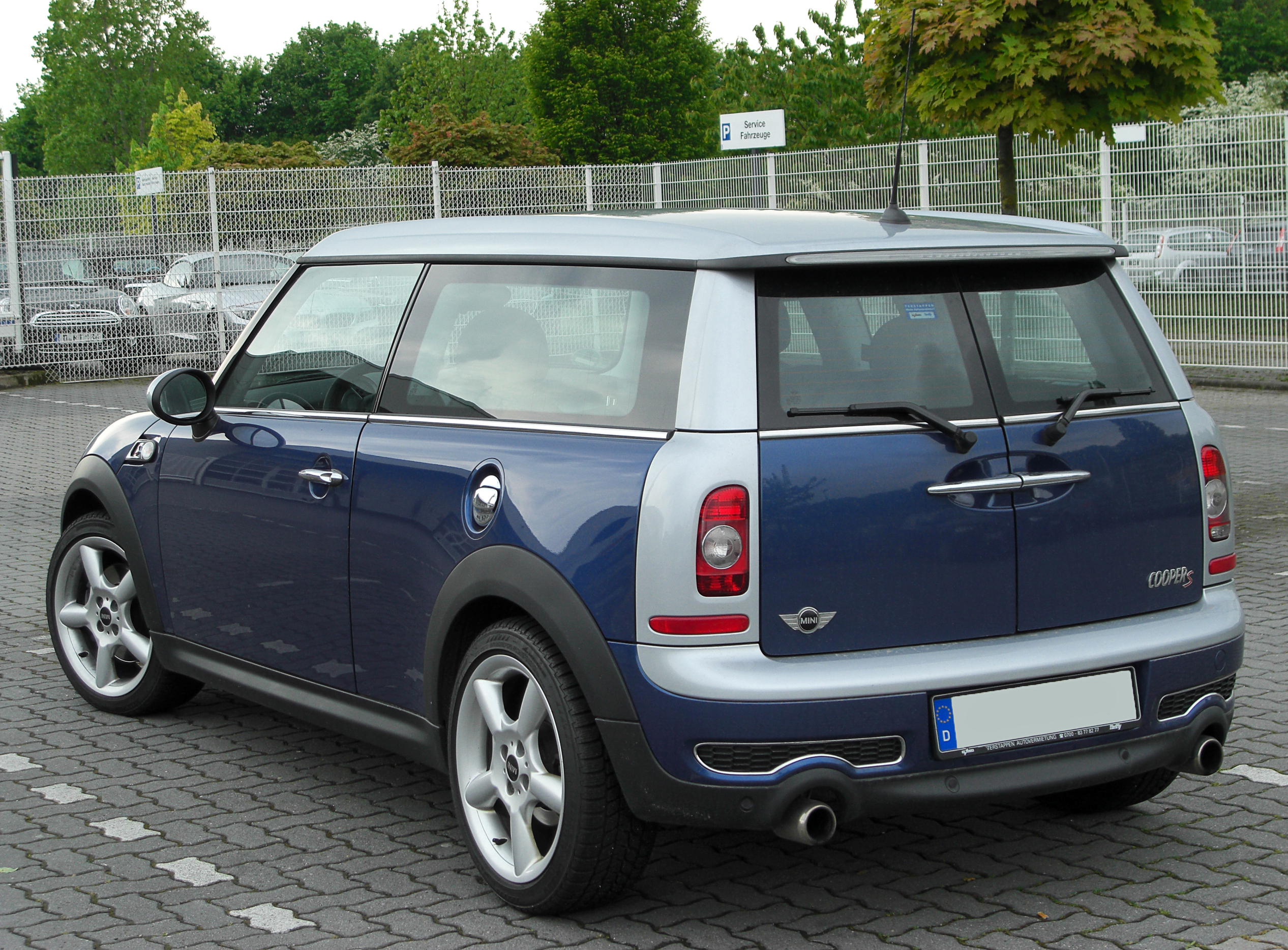 datei mini cooper s clubman facelift rear. Black Bedroom Furniture Sets. Home Design Ideas