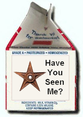 missing on milk carton