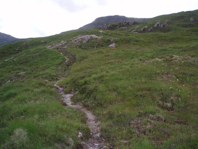Mountain Path - geograph.org.uk - 214516