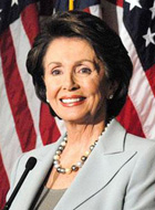 English: Nancy Pelosi, Speaker of the United S...