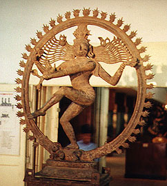 Statue depicting Shiva as Nataraja.
