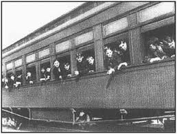 Orphan Train U.S. welfare program that moved orphans from Eastern cities to foster homes in the Midwest