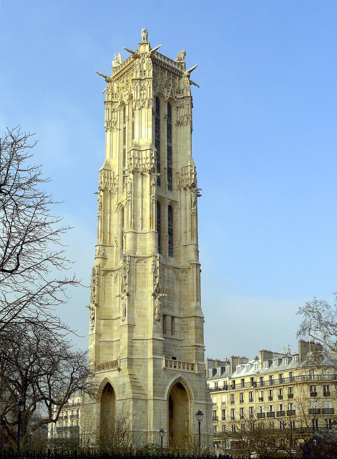 File p1000625 paris iv tour saint jacques resultwk jpg wikimedia commons - Tour saint jacques paris ...