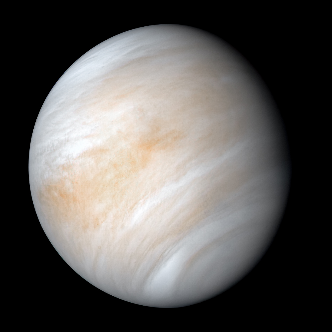 Venus Rotation Real view from Space - YouTube