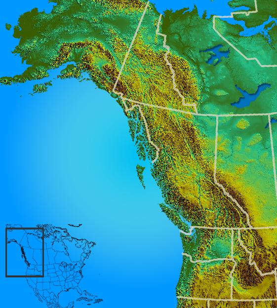 Worksheet. FilePacific northwestreliefpng  Wikimedia Commons
